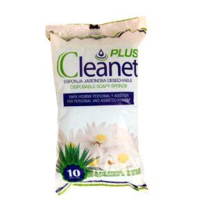 Esponja Jabonosa Cleanet Plus: higiene personal o asistida de pacientes, instrumento de rápida limpieza corporal