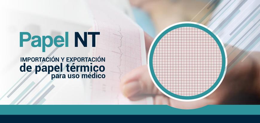 Papel para registro médico: papel para electrocardiógrafos, desfibriladores