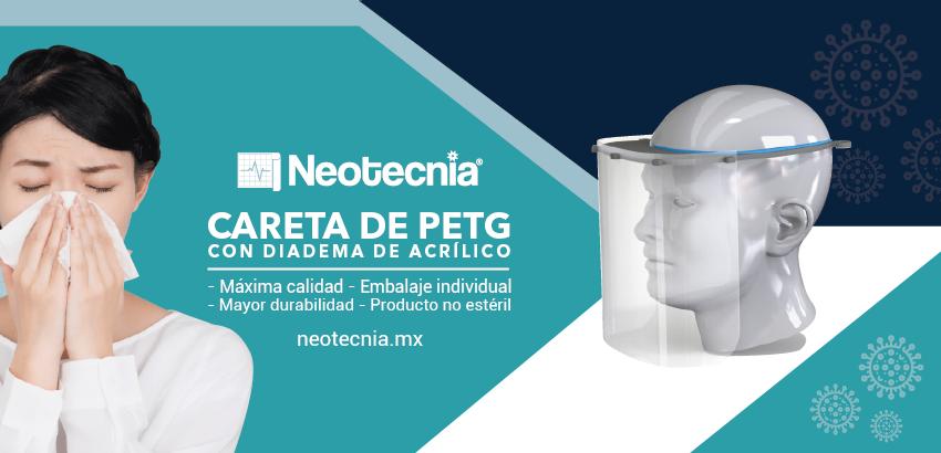 Careta Protectora Facial Transparente de Plástico Ultra Resistente