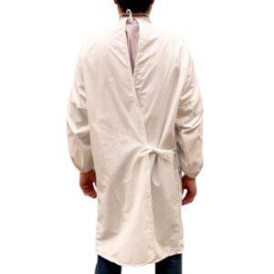 Bata de poliuretano para médicos y enfermeras